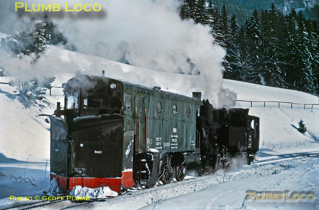 97.207 plus Snowplough, near Präbichl, 26th January 1973