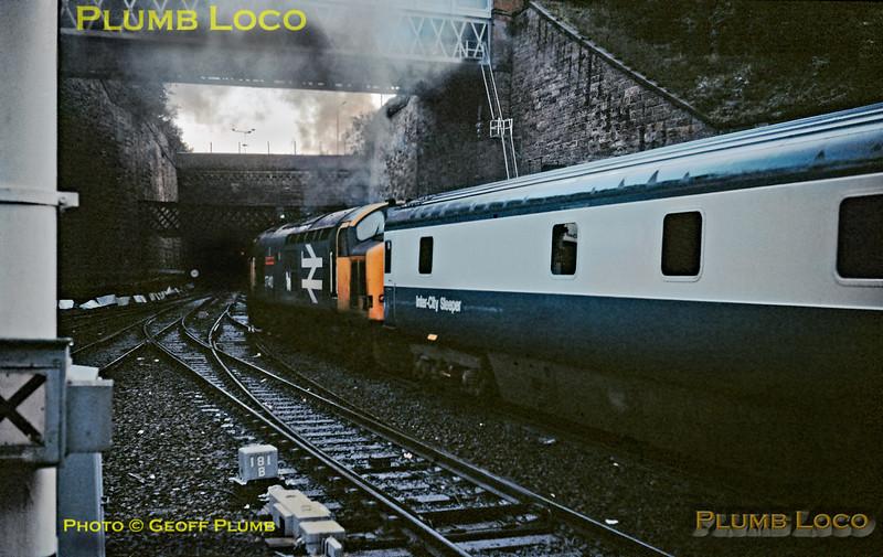 37410, Glasgow Queen Sreet, 28th September 1988