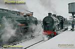 34039 & 44422, Loughborough Central, 27th January 1996