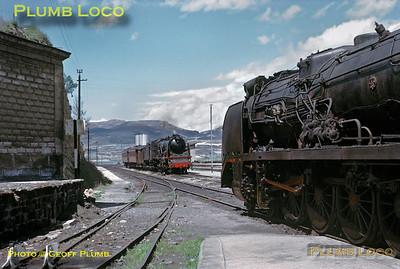 RENFE 241s, Haro, 16th April 1968
