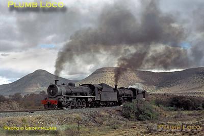 SAR Class 19Bs, Elands Kloof, 1st September 1972