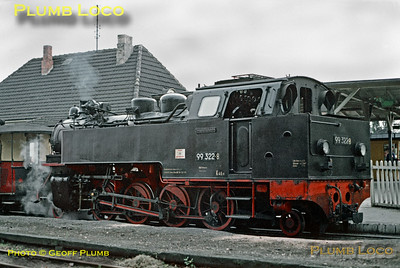 DR No. 99 2332-8, Bad Doberan, 11th September 1971