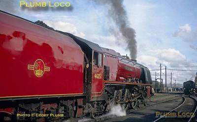 46251, Swindon MPD, 9th May 1964
