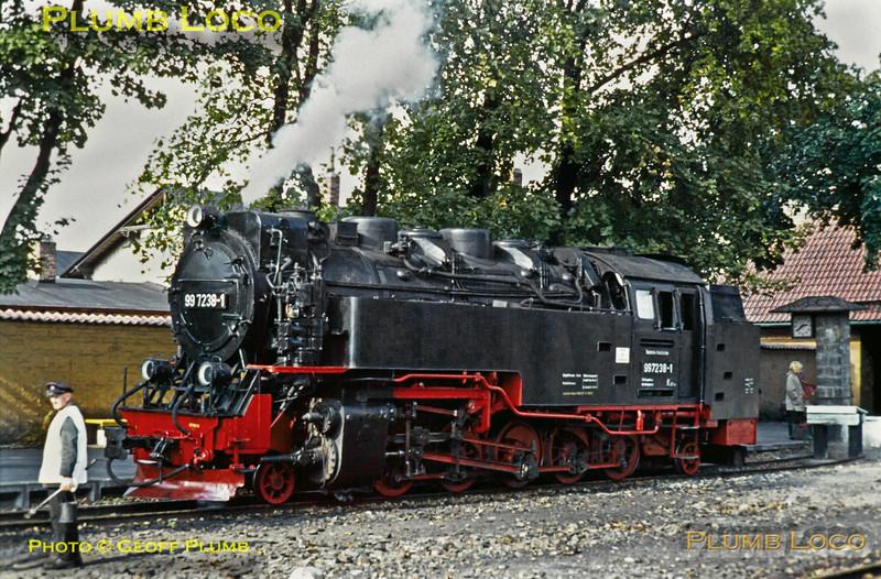 DR 99 7238-1, Wernigerode, 17th September 1971