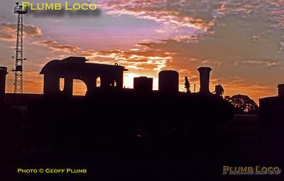PNKA No. D16 07, Sidotopo Sunset, 27th July 1973