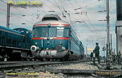 CP Allan Railcar, Pampilhosa, 8th May 1964