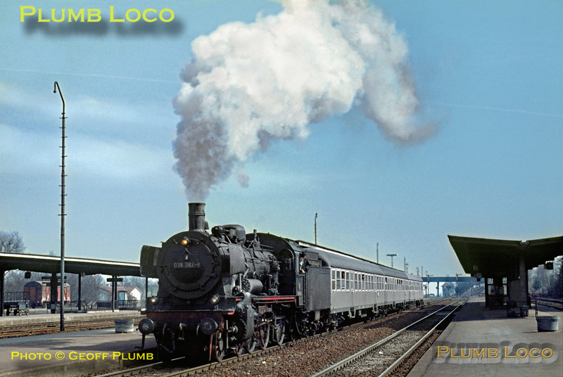 DB No. 038 382-8, Eutingen, 8th April 1971