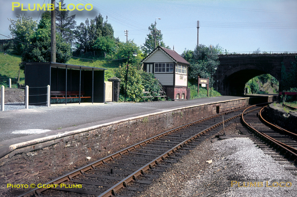 Minffordd (Cambrian) Station, 28th May 1966