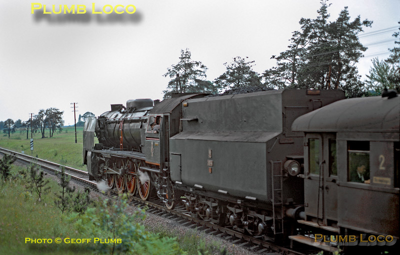 PKP No. Pt47-35, near Łódź, 1st July 1974