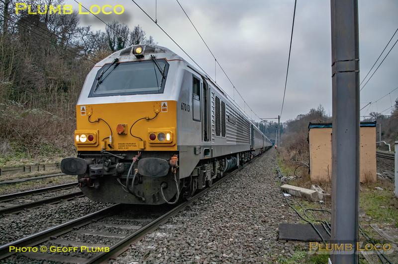 67013, Watford Junction Signal 762, 5P03, 29th January 2011