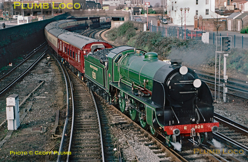 SR No. E 828, Fratton, 11th February 1996