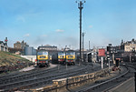 "General View, King's Cross ""Bottom Shed"", 4th March 1966"