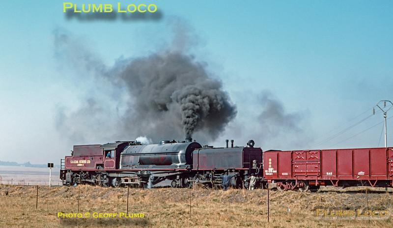 Landau No. 3 Colliery, RR Garratt No.605, 9th September 1972