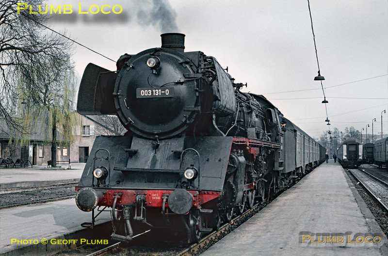 DB No. 003 131-0, Crailsheim, 10th April 1971