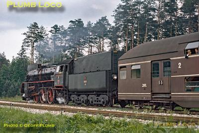 PKP No. Ol49-72 near Rudnik, 30th June 1974