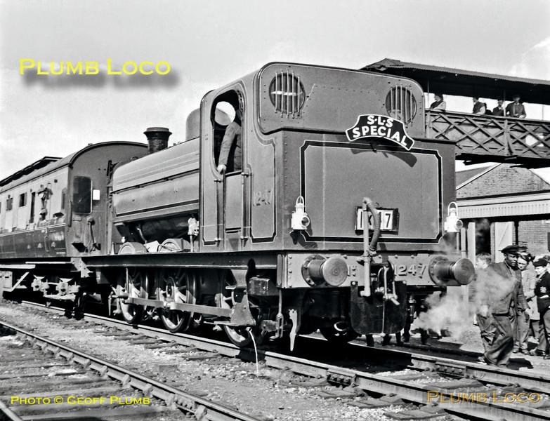 GNR No. 1247, Hatfield, 1X47, 14th April 1962