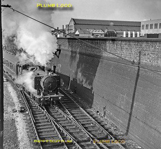 GWR No. 8458, Old Oak Common, 29th October 1962