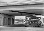 LT Trolleybus No. 1101, Chiswick, 28th April 1962