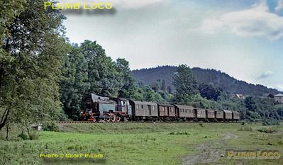 TKt48-xx near Raba Niżna, 29th June 1974