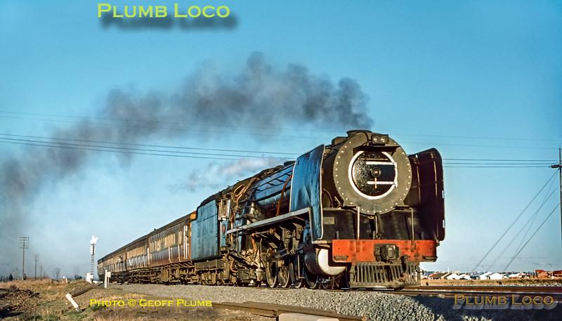 SAR Class 15E, Sleepdam, 4th September 1972