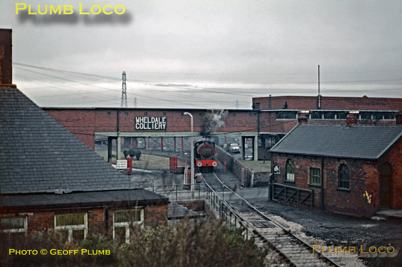 General View, Wheldale Colliery, 19th January 1971