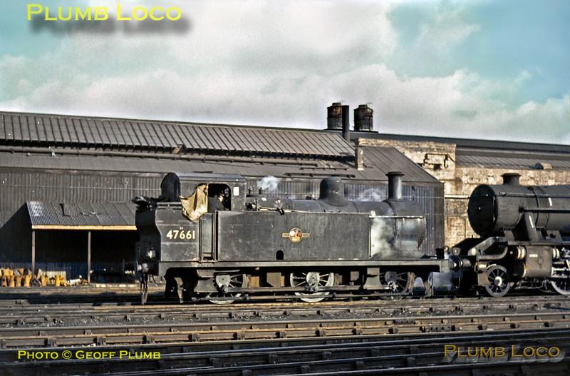 47661, Crewe Works, 2nd November 1965