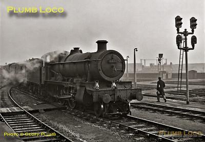 "6832 ""Brockton Grange"", Bristol Temple Meads, 25th February 1963"