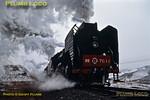 Eastbound QJs, Shangdian, 13th November 2002