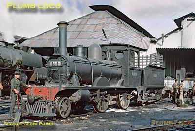 PNKA No. B50 01, Madiun Shed, 25th July 1973