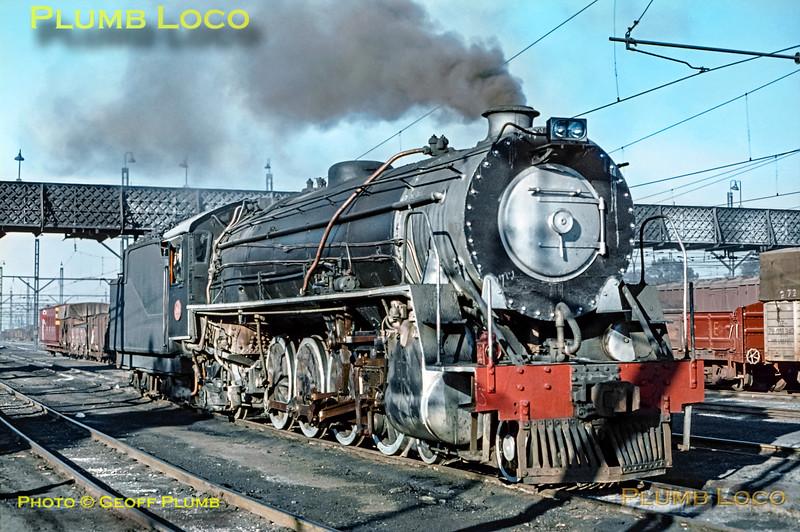 SAR No. 2076, Witbank, 9th September 1972