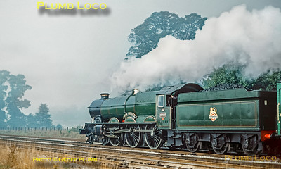 6000 'King George V', Return To Steam, Sonning, 7th October 1971