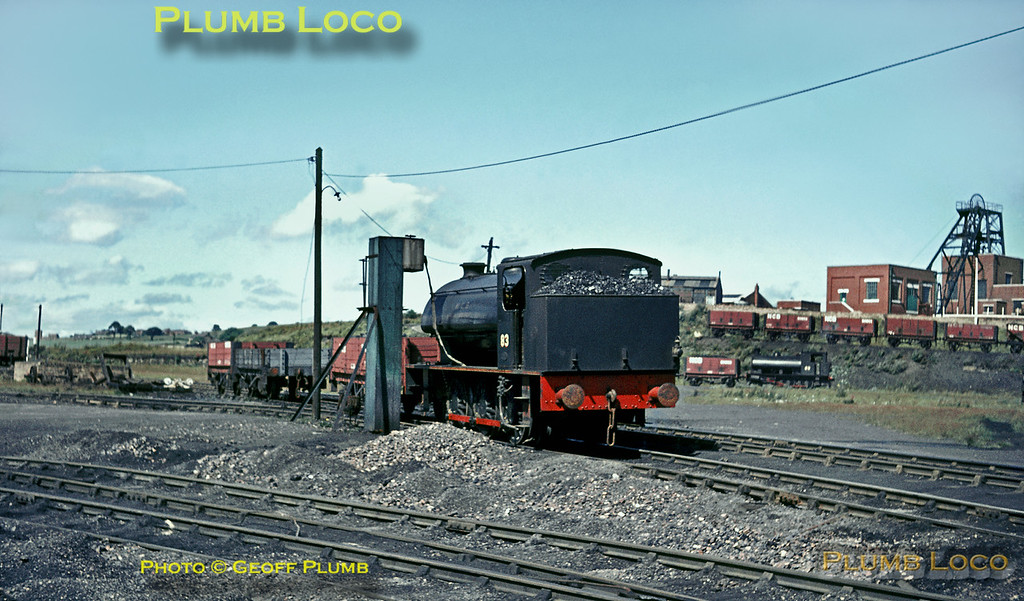 Hunslet No. 3688, Marley Hill, 5th August 1965