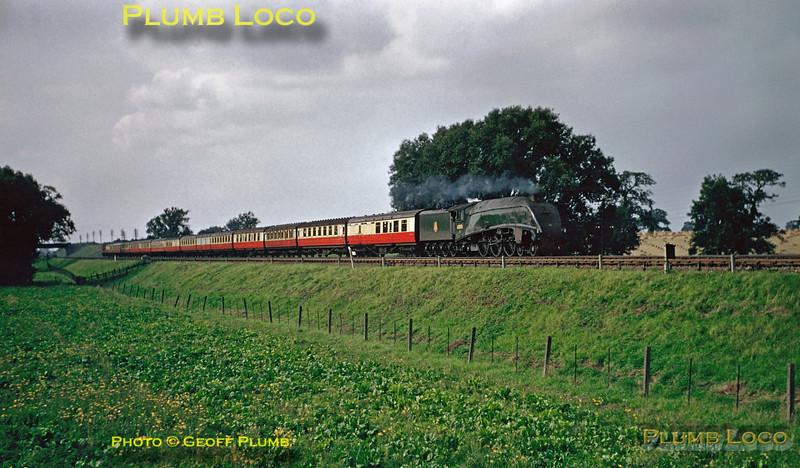 60015, near Great Ponton, 8th September 1956