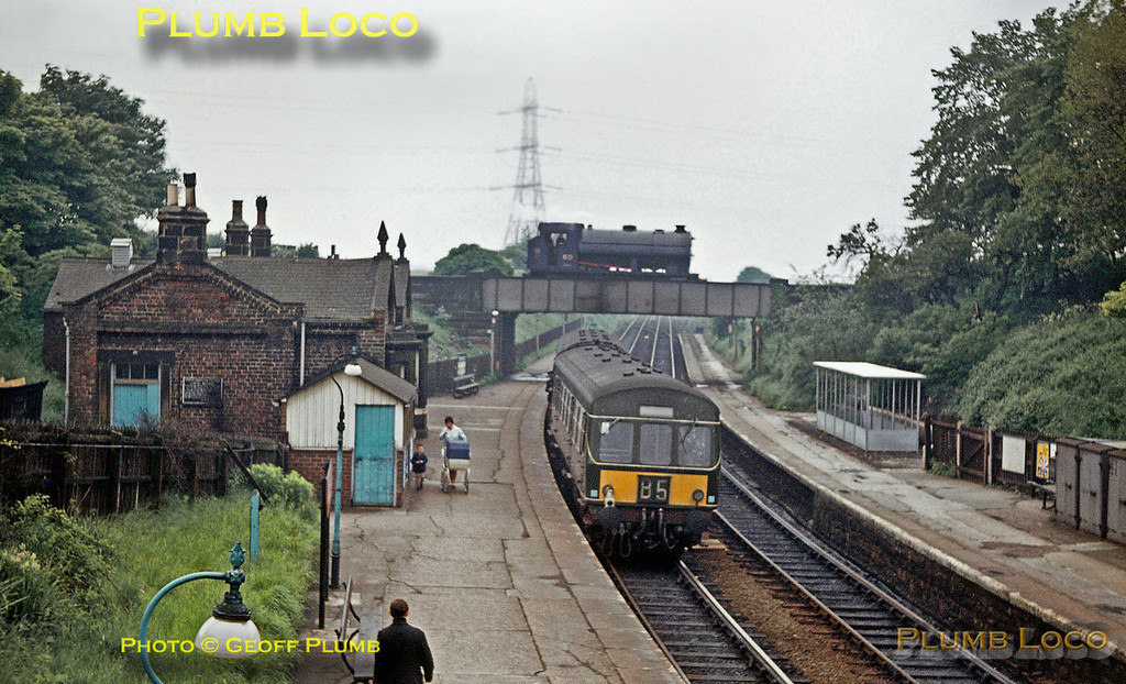 NCB No. 60 & DMU, Backworth, June 1969