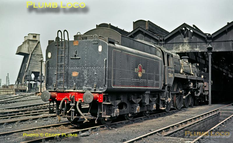 BR No. 73040, Patricroft, 3rd June 1968