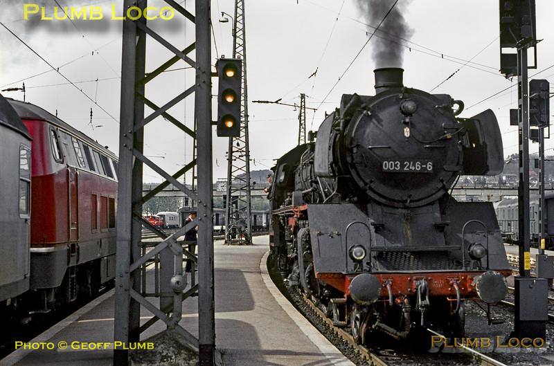 003 246-6 & 216 xxx, Ulm, 8th May 1970