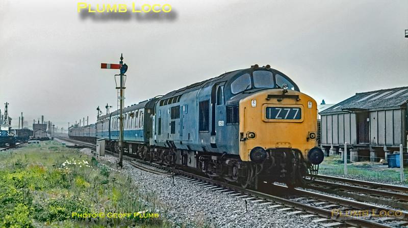 D6931, Craven Arms, 1Z77, 5th June 1971