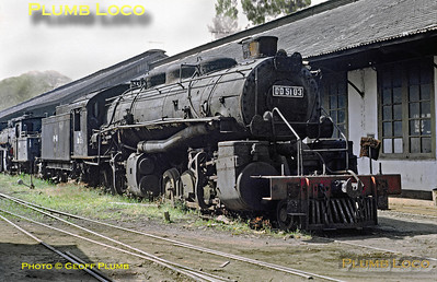 PNKA No. DD51 03, Madiun Works, 25th July 1973