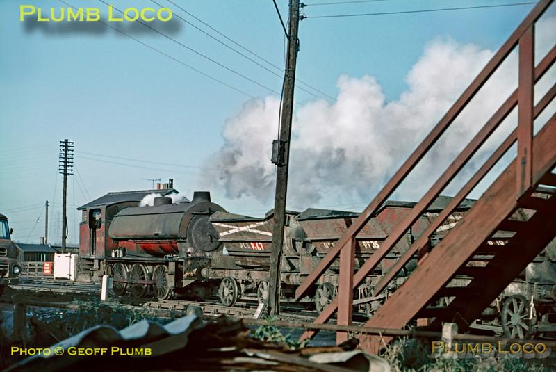 NCB Hunslet No. 3891, Peckfield, 19th January 1971