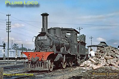 PNKA No. B50 12, Madiun Shed, 25th July 1973