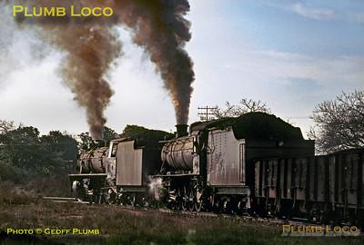 CFM Nos. 268 & 478, Machava Junction, 22nd August 1972