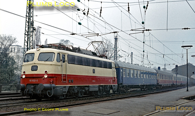 DB 112 502-0, Bonn Hbf, 4th April 1971