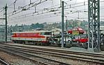 SNCF CC-6518, Brive, Car Train, July  1983