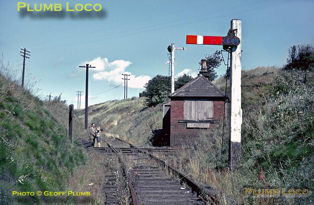 Marley Hill Flat Crossing, 5th August 1965