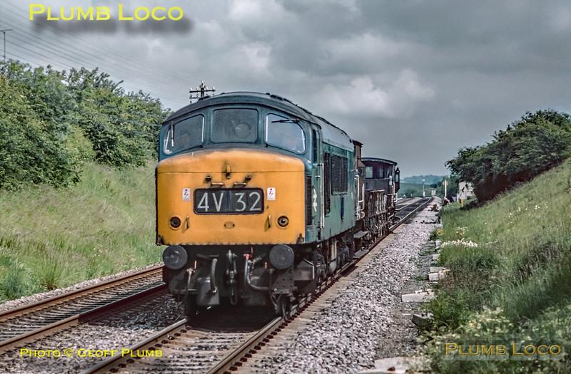 UID Class 45, Tackley, 4V32, 11th June 1972