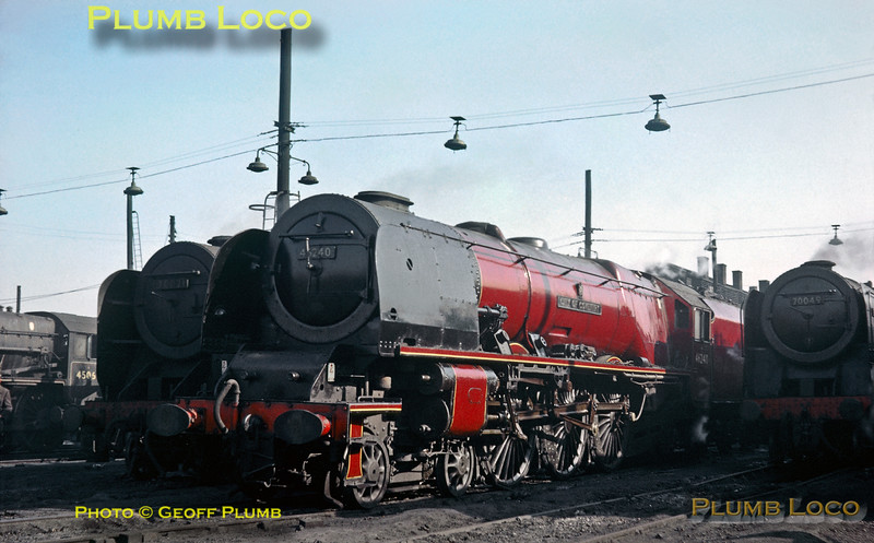 46240, Willesden MPD, September 1963