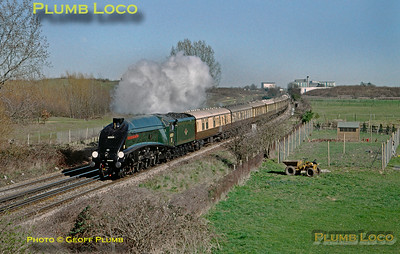 "60009 ""Union of South Africa"", near Feltham, VSOE, 14th March 2003"