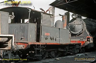 RENFE 030-0219, Miranda de Ebro, 1st November 1969