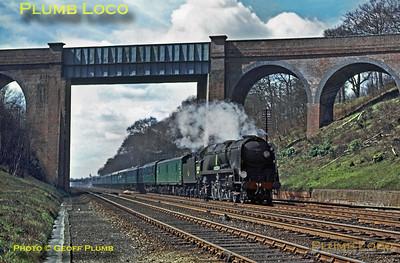 34050, Winchfield Cutting, 11th April 1964
