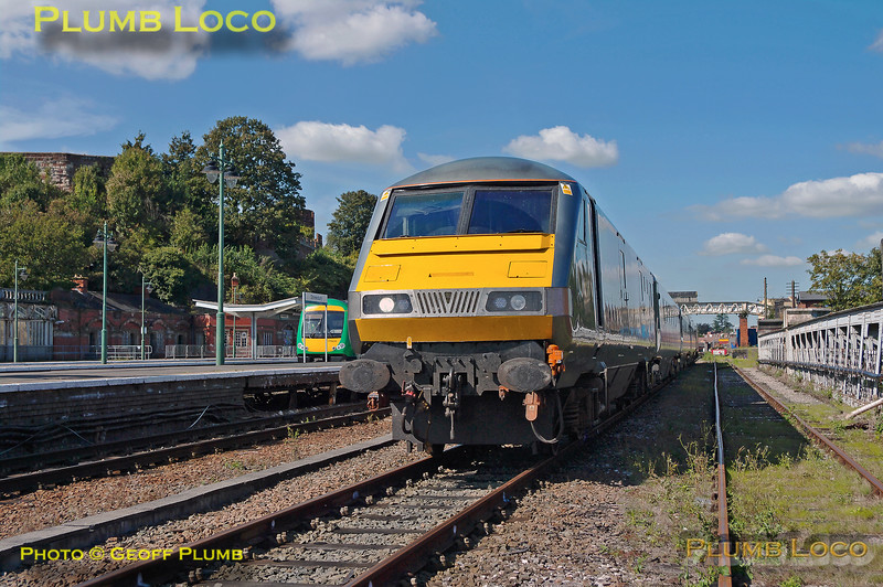 82305, WSMR Test Train, Shrewsbury, 5Z02, 10th September 2009